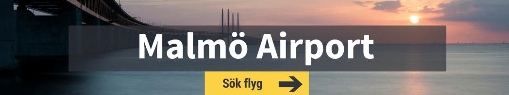 Sök flyg från Malmö Airport