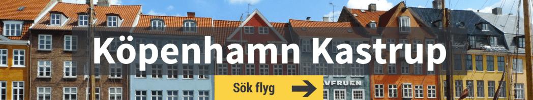 Sök flyg från Köpenhamn Kastrup