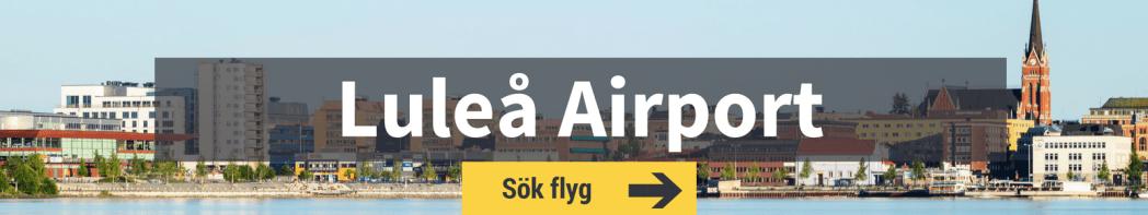 Sök flyg från Luleå Airport