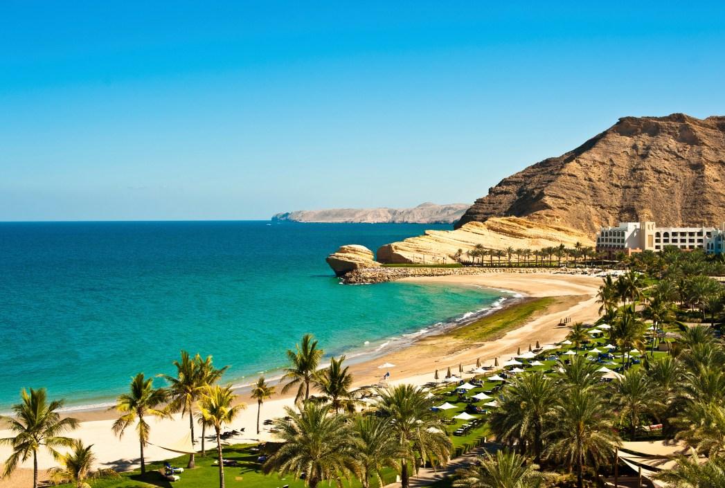Strand i Oman