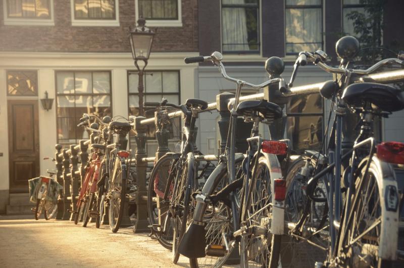Hyr cykel i Amsterdam