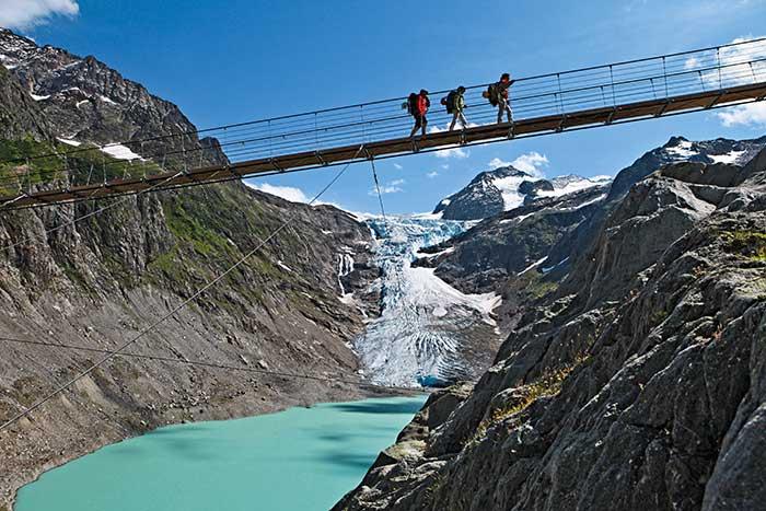 Triftbron, Schweiz